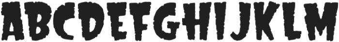CCBigTopFireEater otf (400) Font UPPERCASE