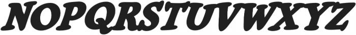 CCCheeseAndCrackers Heavy Italic otf (800) Font UPPERCASE