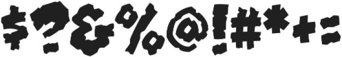CCClobberinTimeCrunchy otf (400) Font OTHER CHARS
