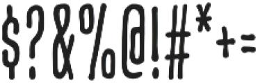CCCreditCrunchSoft otf (400) Font OTHER CHARS