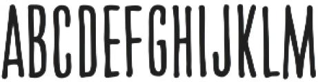 CCCreditCrunchSoft otf (400) Font UPPERCASE
