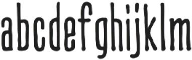 CCCreditCrunchSoft otf (400) Font LOWERCASE