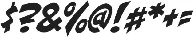 CCDangerGirl otf (400) Font OTHER CHARS