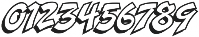 CCDangerGirlOpen otf (400) Font OTHER CHARS