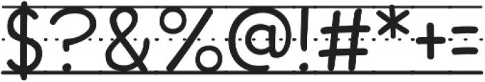 CCDashToSchoolGuidesSolid otf (400) Font OTHER CHARS
