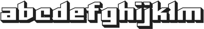 CCDeadlineDoomOpen otf (400) Font LOWERCASE