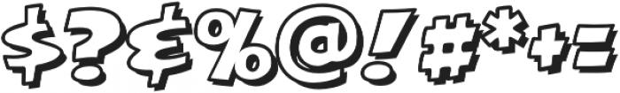 CCExcelsiusOutline otf (400) Font OTHER CHARS