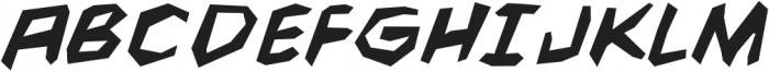 CCFightingWords-BoldItalic otf (700) Font UPPERCASE