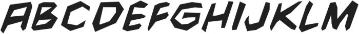 CCFightingWords-BoldItalic otf (700) Font LOWERCASE