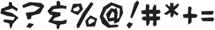 CCFightingWords otf (400) Font OTHER CHARS