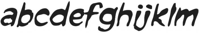 CCForkedTongue Italic otf (400) Font LOWERCASE