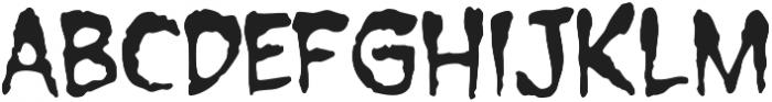 CCForkedTongue Regular otf (400) Font UPPERCASE