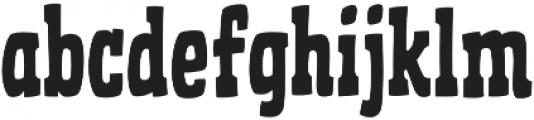 CCGhostTownDeputy otf (400) Font LOWERCASE