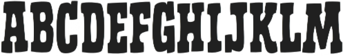 CCGhostTownSheriff otf (400) Font LOWERCASE