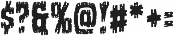 CCGhostTownToothlessJoe otf (400) Font OTHER CHARS