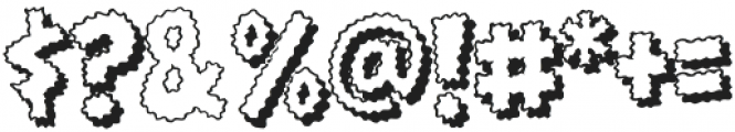 CCGoosebumpsOutline Regular otf (400) Font OTHER CHARS