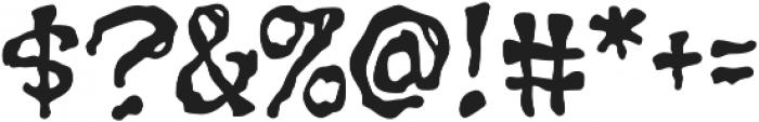 CCGrimlyFiendish otf (400) Font OTHER CHARS