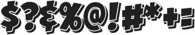 CCHeroSandwichCheesesteak otf (400) Font OTHER CHARS