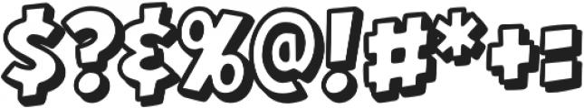 CCHeroSandwichGrilledCheese otf (400) Font OTHER CHARS
