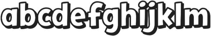 CCHeroSandwichGrilledCheese otf (400) Font LOWERCASE