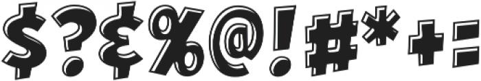 CCHeroSandwichKebab otf (400) Font OTHER CHARS