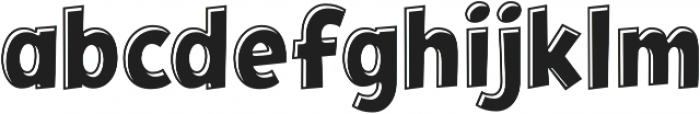 CCHeroSandwichKebab otf (400) Font LOWERCASE