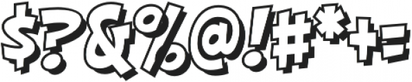 CCHighJinkiesOpen otf (700) Font OTHER CHARS