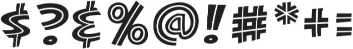 CCKillJoyInline otf (400) Font OTHER CHARS