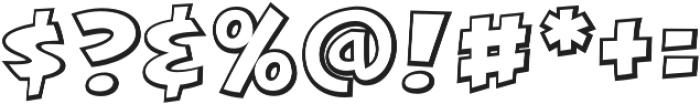 CCKillJoyOutline otf (400) Font OTHER CHARS