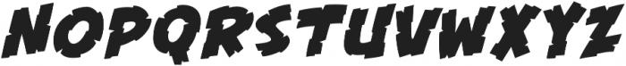 CCKillZone otf (400) Font UPPERCASE