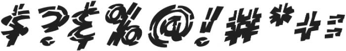 CCKillZoneInline otf (400) Font OTHER CHARS