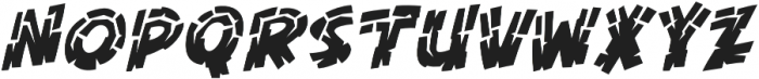 CCKillZoneInline otf (400) Font UPPERCASE