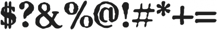 CCLetterhackSerif otf (700) Font OTHER CHARS
