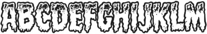 CCMeltdownOpen otf (400) Font UPPERCASE
