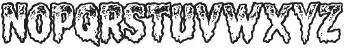 CCMeltdownOpen otf (400) Font LOWERCASE