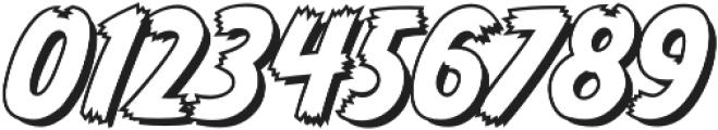 CCMonsterMashOutline otf (400) Font OTHER CHARS