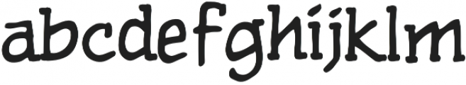 CCPulpFiction Regular otf (400) Font LOWERCASE
