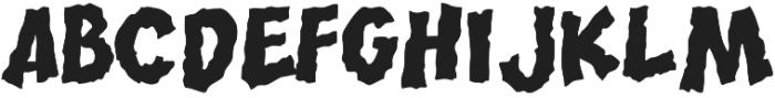 CCRumble Regular otf (400) Font UPPERCASE