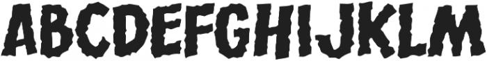 CCRumble Regular otf (400) Font LOWERCASE
