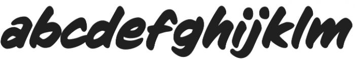 CCSignLanguage otf (700) Font LOWERCASE