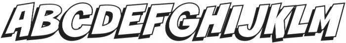 CCSmashOpen Regular otf (400) Font UPPERCASE