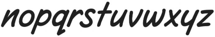 CCSpaghettiWesternSans otf (400) Font LOWERCASE