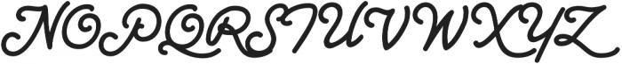 CCSpaghettiWesternSwash otf (400) Font UPPERCASE