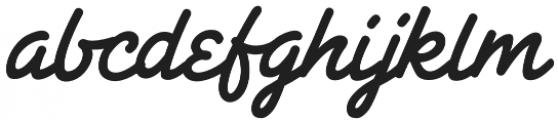 CCSpaghettiWesternSwash otf (400) Font LOWERCASE