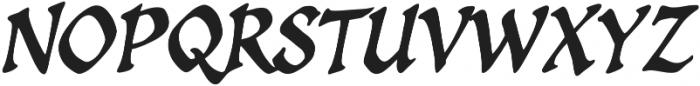 CCSpellcaster Italic otf (400) Font UPPERCASE