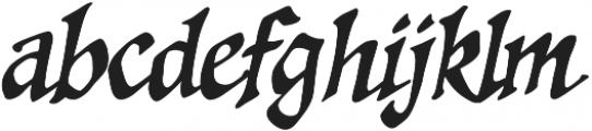 CCSpellcaster Italic otf (400) Font LOWERCASE
