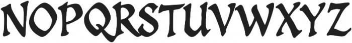 CCSpellcaster otf (400) Font UPPERCASE