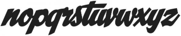 CCSpillsInfield otf (400) Font LOWERCASE