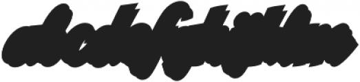 CCSpillsStadium otf (400) Font LOWERCASE