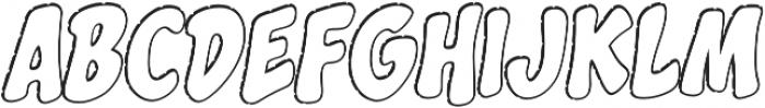 CCSplashdownOpen otf (400) Font UPPERCASE
